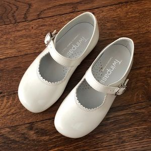 Other - White Patent Leather Dress Shoes
